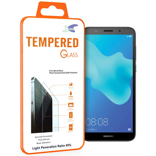 Calans 9H Tempered Glass Screen Protector for Huawei Y5 (2018) - Clear